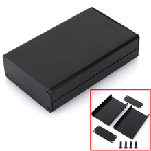 Black Extruded Aluminum Enclosure PCB Instrument Box DIY Electronic Project Case 80x50x20mm(China)