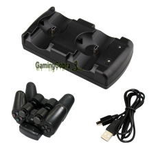 2in1 USB Charger Charging Dock Stand for PS3 Dual Shock MOVE Wireless Controller(China)