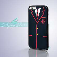 Coque GLEE DALTON ACADEMY UNIFORM Phone Cases for iPhone X 8 8Plus 7 6 6S 7 Plus SE 5S 5C 5 4S 4 Case for iPod Touch 6 5 Cover.(China)
