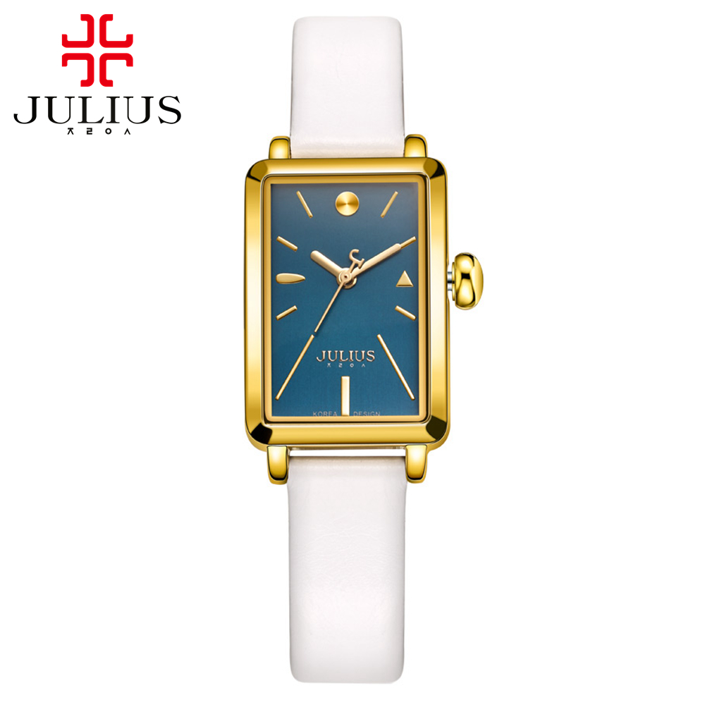 Preety Girls simple fashion casual quartz analog watch Female leather band high quality gift watches Famous Julius 941 hour time<br><br>Aliexpress