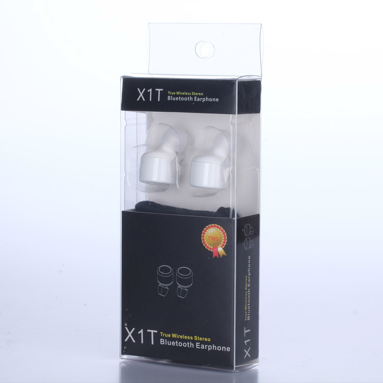 X1T Twins True Wireless Bluetooth Earphone Smart Mini Double In-Ear Stereo Music Earphones Earbuds With MIC Voice Prompt
