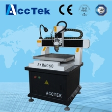 Jinan AccTek metal cnc carving machine new condition 3 axis molding drill machine