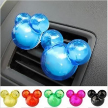 2PCS Plastic Air Freshener Perfume Pleasant  Scent Fragrence Odor Diffuser  For Auto Car Vehicle SUV New 4.5 x 2 x 5.5cm