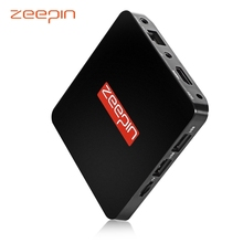 ZEEPIN TV Box 2.4G WiFi Online Media Player Android 6.0 Amlogic S905X 1G RAM 8G ROM Mali-450 MP TV Box Set-top Box(China)