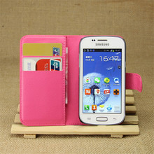 For Samsung GT-S7262 GT S7262 S7260 7262 Luxury Retro Leather Wallet Flip Cover Case For Samsung Galaxy Star Plus Duos S7262 Pro