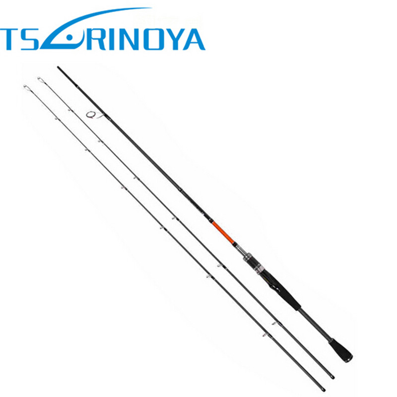 Trulinoya 2Tips(M / ML) Fast Spinning Fishing Rod 2.1m/2.4m Lure Wt:M: 7-20g/ML:5-15g 2Secs Carbon Rods Bass Pesca Stick Tackle<br>