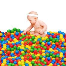 50 pcs/lot Plastic Pool Balls Baby Balls inflatable children's pool Balls Pool Toys Baby playground swimming Pool Baby Toy(China)