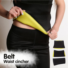 2017 New Sweat Shapers Slimming Belt Sauna Waist Cincher Girdle for Weight Loss Women & Men Lost Weight Belt Corset Drop Ship(China)