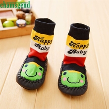 CHAMSGEND Best seller drop ship baby socls socks kids Baby Baby Cartoon Toddler Anti-slip Sock Kids Warm Socks Feb7 S30(China)