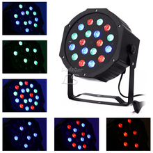 Hot Sale LED Crystal Magic Ball Par 36 RGB LED Stage Light Effect Disco DJ Bar Effect UP Lighting Show DMX Strobe for Party KTV(China)