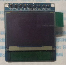 0.96 inch 9PIN Red Green Blue OLED Module CTP SSD1303 Drive IC 96*64 SPI Interface