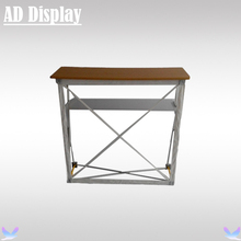 High Quality Trade Show Booth Pop Up Counter/Advertising Podium/ Promotion Table(Not Include Banner)