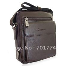 New Arrival!Free Shipping!Classic Men's Gentlemen's NEW Real Genuine Cowhide Leather Coffee Shoulder Messenger CrossBody Bag(China)