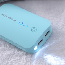 Hot sale Power Bank Real 8800mah USB Universal portable Charger External Mobile Backup Powerbank Battery For mobile phone