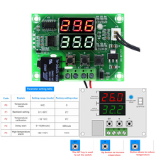 Buy DC 12V XH-W1219 Thermostat Temperature Controller Switch Module Dual LED Digital Display + Waterproof NTC Sensor Module for $2.49 in AliExpress store