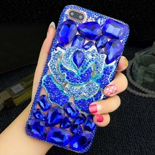 Buy Bling Diamond Capa Case Apple iPhone 8 7 plus 7 6 plus 6s plus BLUELOVER Flower Crystal Rhinestone Cover Fundas case for $11.55 in AliExpress store
