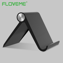 FLOVEME Universal Phone Holder Stand For iPhone 6 7 iPad Mini 1 2 3 Air 1 2 Samsung S8 Folding Shaft Adjustable Table Holder