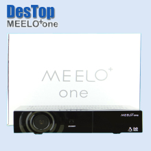 Best selling strong full HD satellite tv receiver MEELO one 750 DMIPS Processor Linux Operating System 1pc free shipping