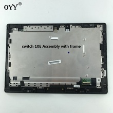 LCD Display touch screen digitizer glass assembly with frame For Acer aspire Switch 10E SW3-013-12AE