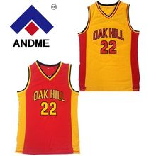 8915766f4d94 Throwback Basketball Jerseys 22 Carmelo Anthony Oak Hill High School Yellow  Basketball Jersey Free Shipping(