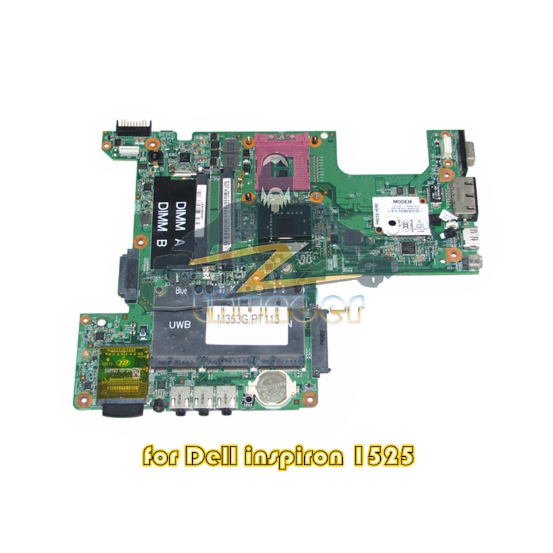 CN-0PT113 48.4W002.031 for dell inspiron 1525 laptop motherboard gm965 ddr2(China (Mainland))