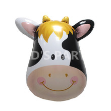 1pcs Big cow Helium Foil Balloons Animal Air Balloons farm pet theme birthday party baby milk suppies large kids toys baloes