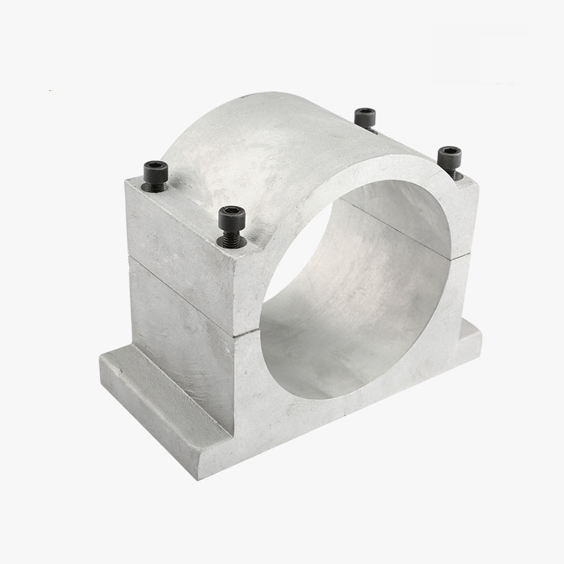 NEW Cast aluminium 125mm spindle mount for 4.5kw/5.5kw spindle motor<br>