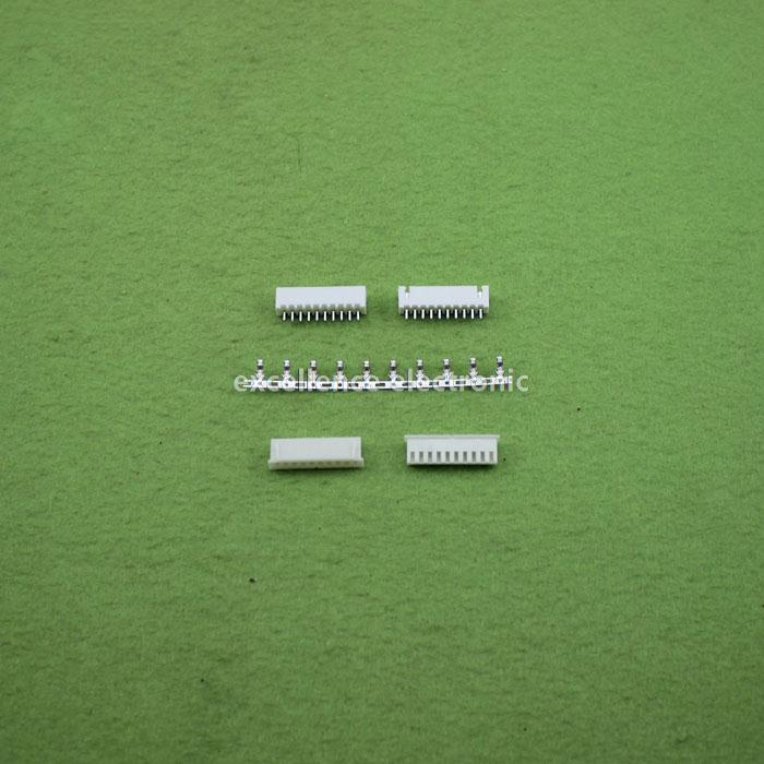 100sets/Lot 10 Pin Connector Leads Header 2.54mm XH-10P Kit Housing Pin header Terminal<br><br>Aliexpress