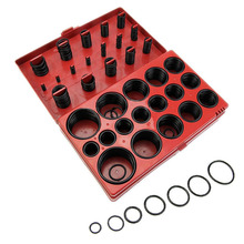 Mayitr 419pcs/box Professional Universal O-Ring Assortment Set Metric Kit Car Seal Rubber Gasket Black Seals