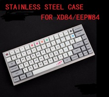 stainless steel bent case  acrylic panels acrylic diffuser for  xd84 eepw84 75% custom Mechanical keyboard