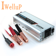 Iwellup Car Power Inverter 12v 220v 2000w Inversor Automotive Car Voltage Converter Car Charger USB