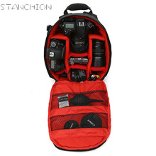 STANCHION Casual Camera Backpack Photography Bag Waterproof Anti-theft Detachable Men and Women Outsource(China)
