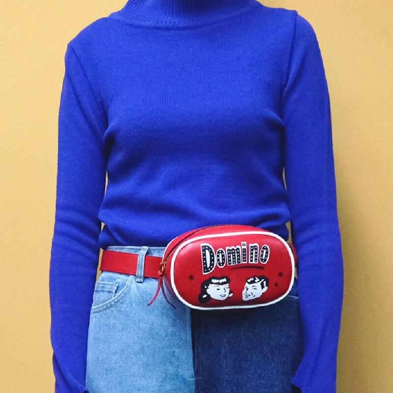 YIZISToRe-PU-leather-women-chest-bags-fashion-waist-bag-in-Lucky-Bag-series-FUN-KIK (4)