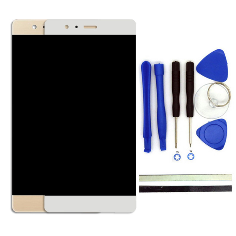 1PCS 5.2inch White/Gold For Huawei Ascend P9 LCD Display Touch Screen Digitizer Accessories Replacement Cell Phone Parts<br><br>Aliexpress