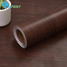 5M DIY Decorative Film Wood Grain PVC Stickers Roll Bedroom Furniture Self Adhesive Wallpaper for Wardrobe Door Home Decor