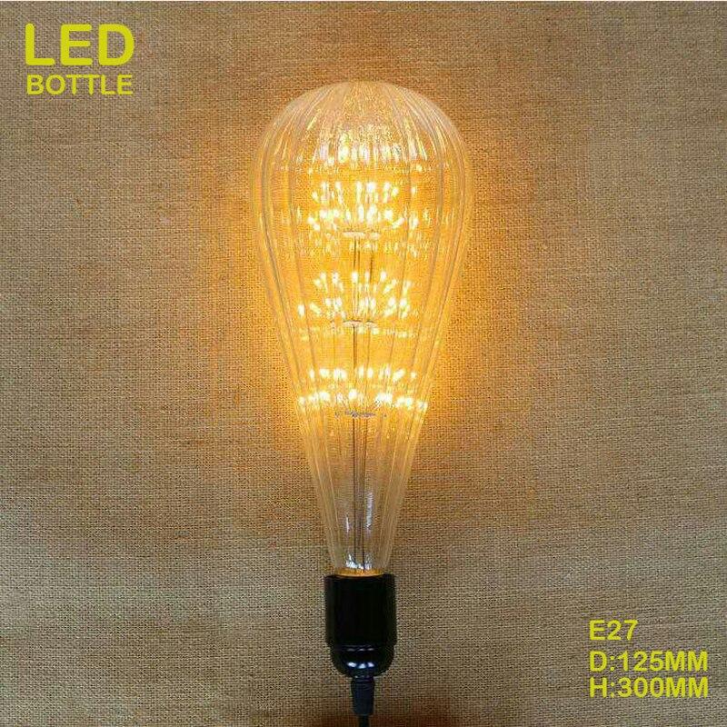 MRDENG Led Light Bulb SMD 3528 E27 220V 2W 25000H Edison Lamp Sky Star Bottle Shaped Light Bulb Decorative Bar Use Cafes Club<br><br>Aliexpress