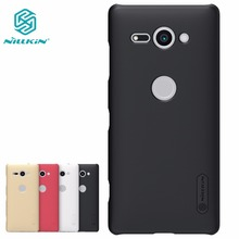 Buy Case Sony Xperia XZ2 Compact NILLKIN Super Frosted Shield matte hard back cover case screen protector Retail package for $7.99 in AliExpress store
