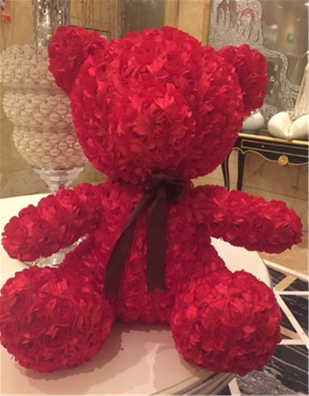 Fancytrader Red Rose Teddy Bear Toy Nice Quality Big Bear Teddy Doll 70cm 28inch for Kids Adults Gifts2