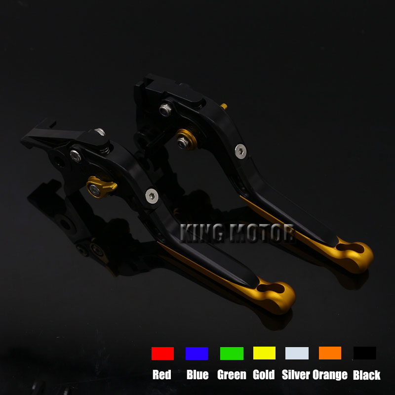 For YAMAHA FZ1 FAZER 2001-2005 Motorcycle Accessories Folding Extendable Brake Clutch Levers<br>