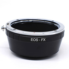 new Lens Adapter Ring for Canon EOS EF EF-S Mount Lens for Fujifilm X-Pro1 Mount Camera EOS-FX Adapter Ring(China)
