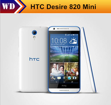 Original Unlocked HTC Desire 820 Mini Unlocked Dual SIM 5.0 Inch 8GB Quad Core 1.2GHz 8MP GPS WIFI 3G 4G Cell Phone(China)