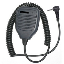 1Pin 2.5mm Speaker Microphone for Motorola Talkabout Radio for T6200  Cobra Radio