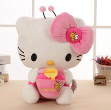 Children'S Toy  Pillow Bee  Hello Kitty   Stuffed  Doll  Big  Toys Birthday Gift for Girls