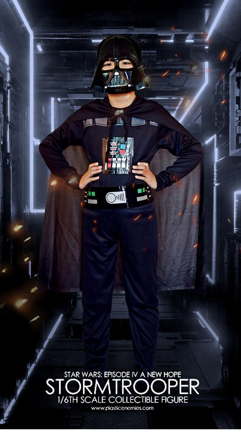 Adult Mens Star Wars BOBA FETT Halloween Purim Costume Shirt Mask M L XL NEW