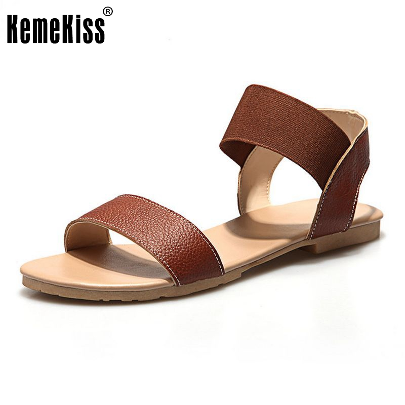 Women Flats Sandals Genuine Leather Shoes Women Ankle Strap Flat Sandals Quality Casual Shoes Flat Sandalias Size 34-39 PA00282<br><br>Aliexpress