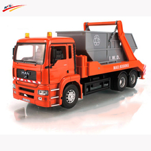 KWD 1:32 for MAN Environmental Clean-up Gtruck Diecast Truck Model  Vehicles Collection Toy Gift for Kids Children