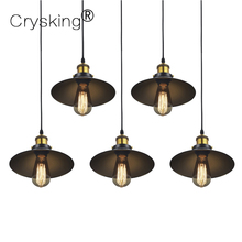 Chandelier Lighting Retro Vintage Lamp E27 Loft Luminaria Edison Industrial Light For Dining Room, for Home Bar Cafe Christmas