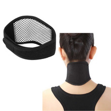 Health Care Tourmaline Far Infrared Ray Spontaneous Heating Belt Pain Relief Neck Cervical Vertebra Magnetic Therapy Massager
