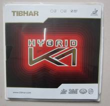 Original Tibhar Hybrid K1 pimples in table tennis rubber sticky rubber made in Germany good forehand for table tennis racket