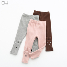 EnkeliBB Baby Girls Basic Legging Girls Long Pants Wholesale Girls Leggings Toddler Cotton Kitty Pants Autumn Pants For Kids